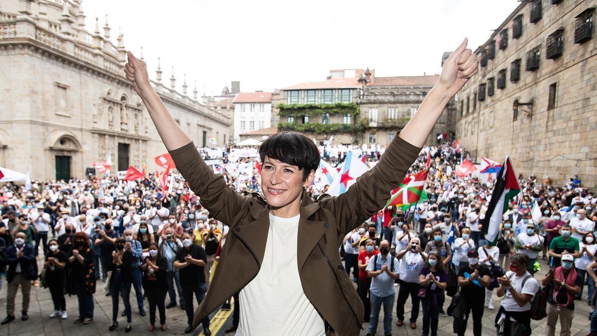 Ana Pontón, no acto do BNG.