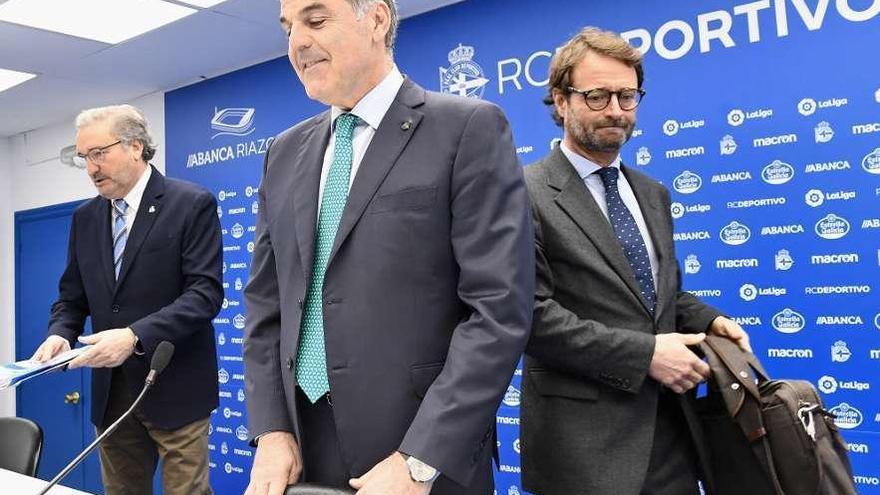 """Fernando Vidal: """"Hay que ampliar capital porque la situación es demoledora"""""""