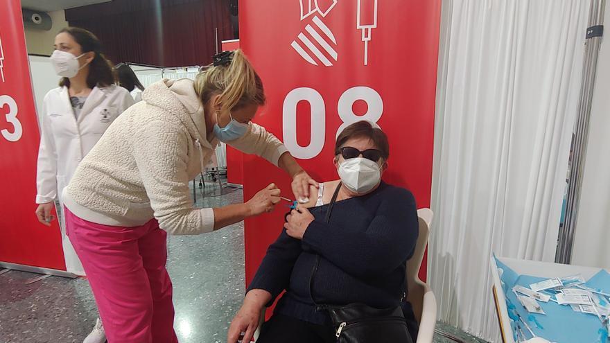 Así ha sido la vacunación en el Casal Fester de Alzira