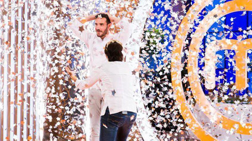 Policía, campeón olímpico y ganador de MasterChef Celebrity