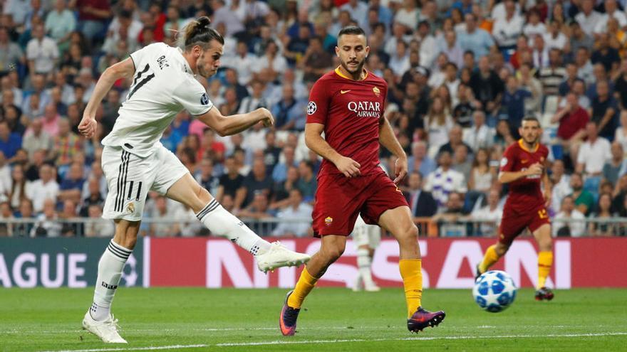 El Madrid brilla y golea a la Roma en su debut en Europa