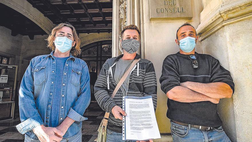 El Gremi de Margers exige la paralización de unas obras en Estellencs por su mala calidad