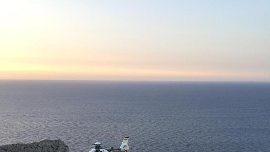 La Guardia Civil halla en Es Mirador de ses Coves Blancas a un hombre desaparecido desde este viernes