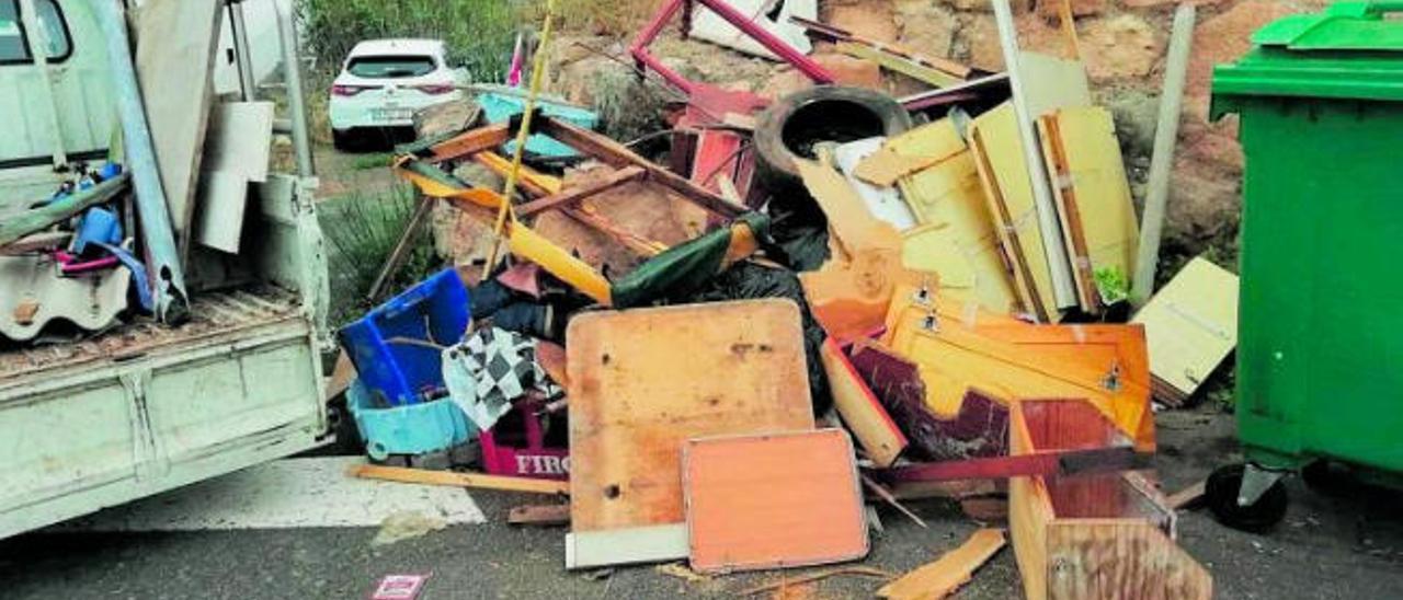 Moya desarrolla una ordenanza para multar los residuos incontrolados