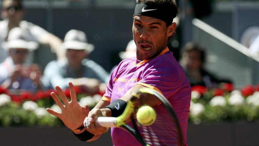 Nadal no da opción a Djokovic y jugará la final de Madrid