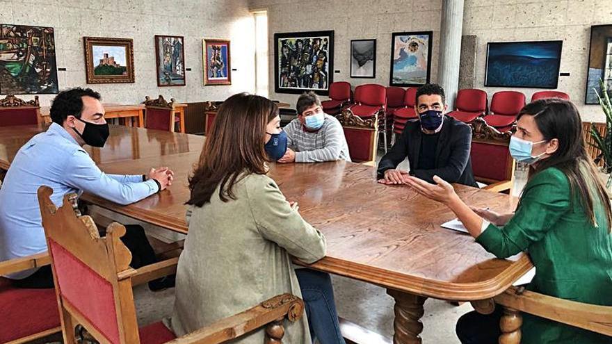 Verónica Pichel solicita a la Xunta de Galicia que destine más fondos para el Concello de Forcarei