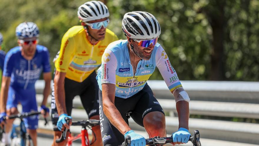Veloso resiste a una dura etapa sufriendo encima de la bicicleta