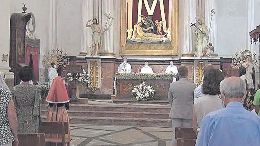 Una misa en Valldemossa en honor a Santa Catalina Thomàs sustituye al Carro triunfal