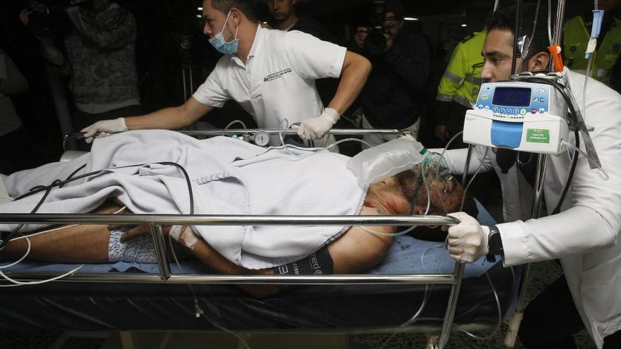 Accidente de avión en Colombia