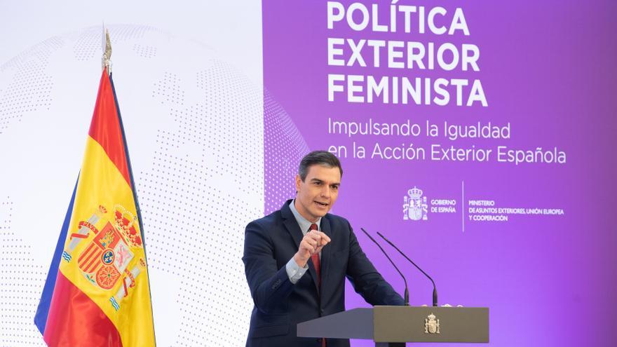Sánchez impulsa la diplomacia feminista como herramienta clave