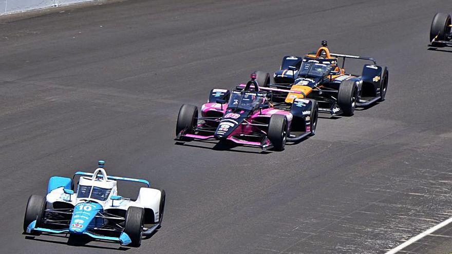 Alex Palou roza la victoria en Indianápolis