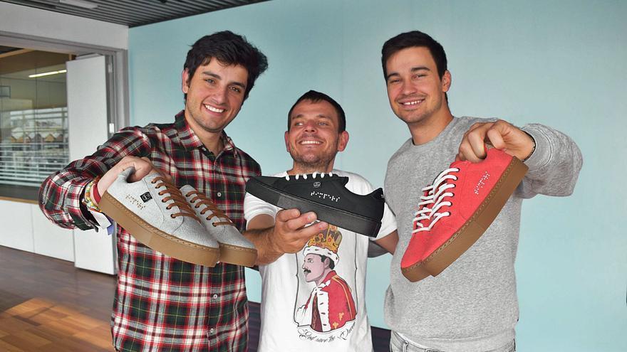 Las zapatillas con buena vista