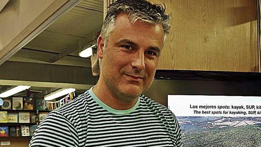 """Miguel Ángel Álvarez Alperi: """"Llevo más de 20 años explorando el litoral de la isla de manera profesional"""""""
