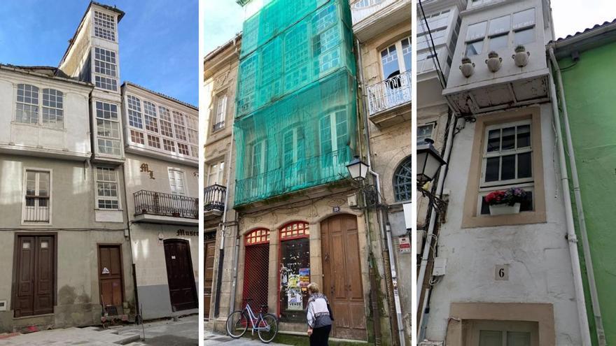 Las casas más estrechas de Galicia: cómo vivir en menos de tres metros de ancho