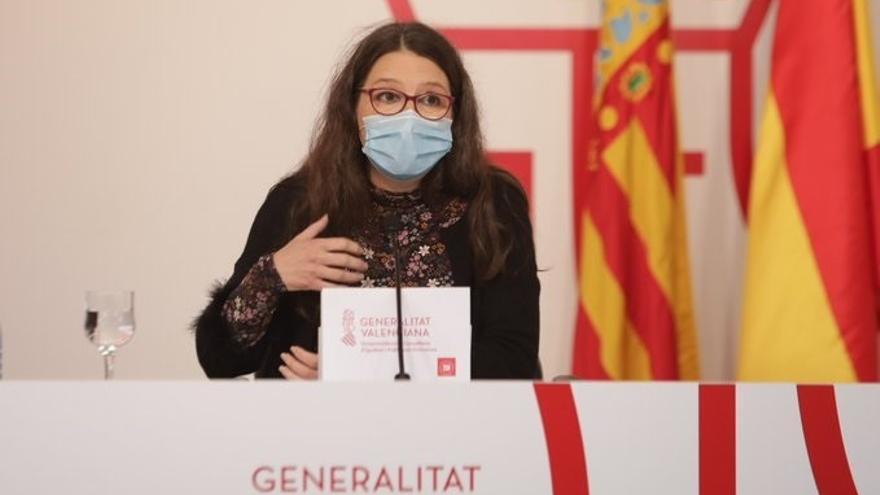 """Oltra, saturada: """"Me 'reglota' Madrid y lo que dice Ayuso"""""""