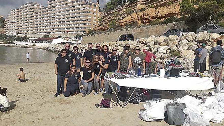 Retiran 153 kilos de residuos en El Toro