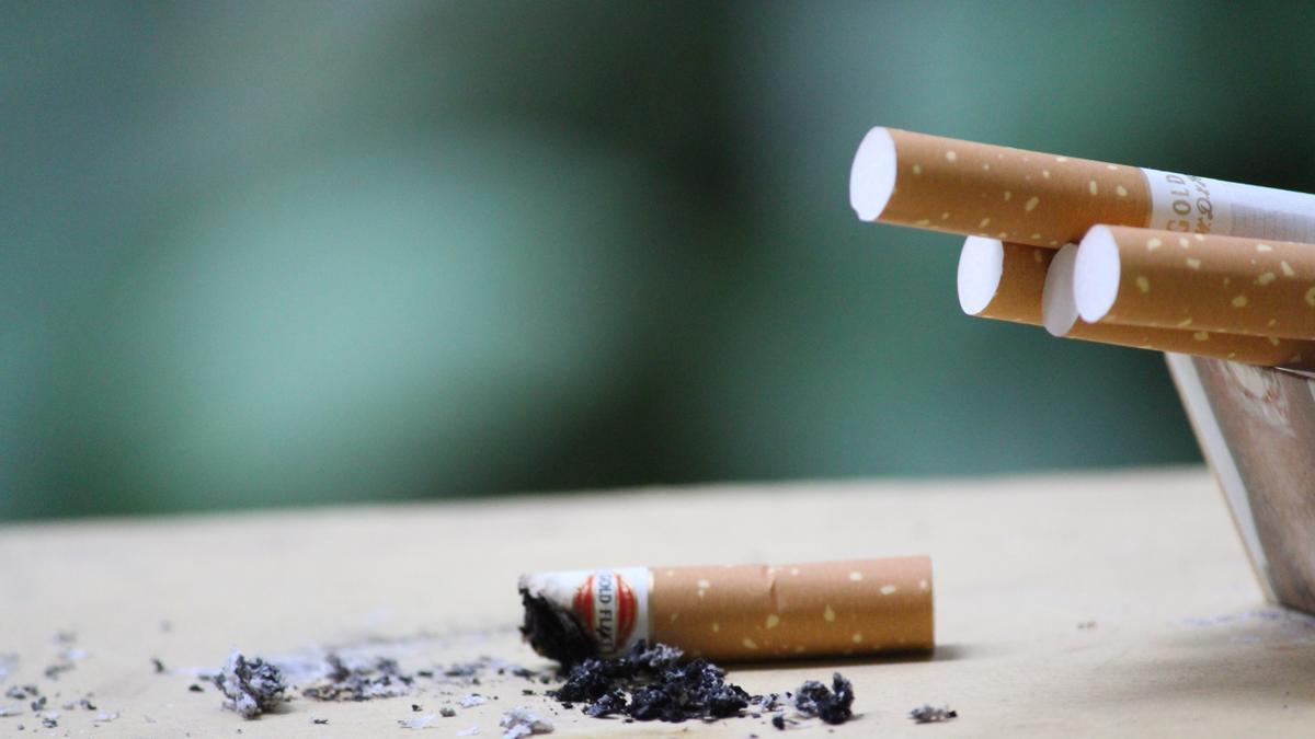 Un cigarro.