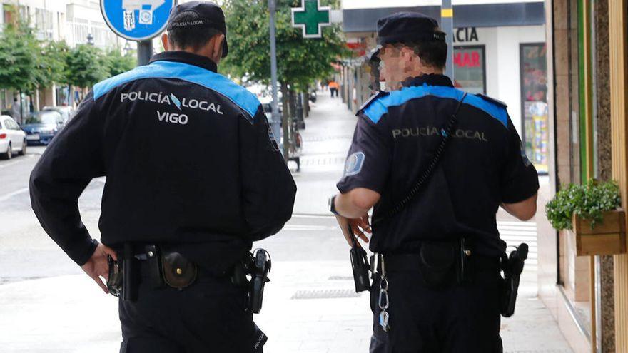 Un robo frustrado en una tienda de Vigo acaba en agresión a la dependienta