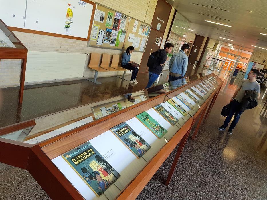 Auténtica devoción por Tintín en la Facultad de Filología