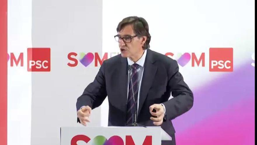 Illa dejará el Ministerio de Sanidad para ser candidato en Cataluña en lugar de Iceta
