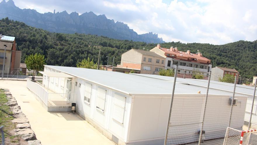 Educació s'avé a construir l'edifici de l'institut de Castellbell a la Vall de Montserrat