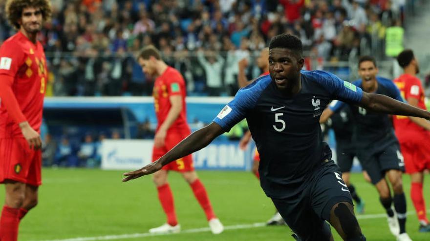 Umtiti porta França a la final del Mundial