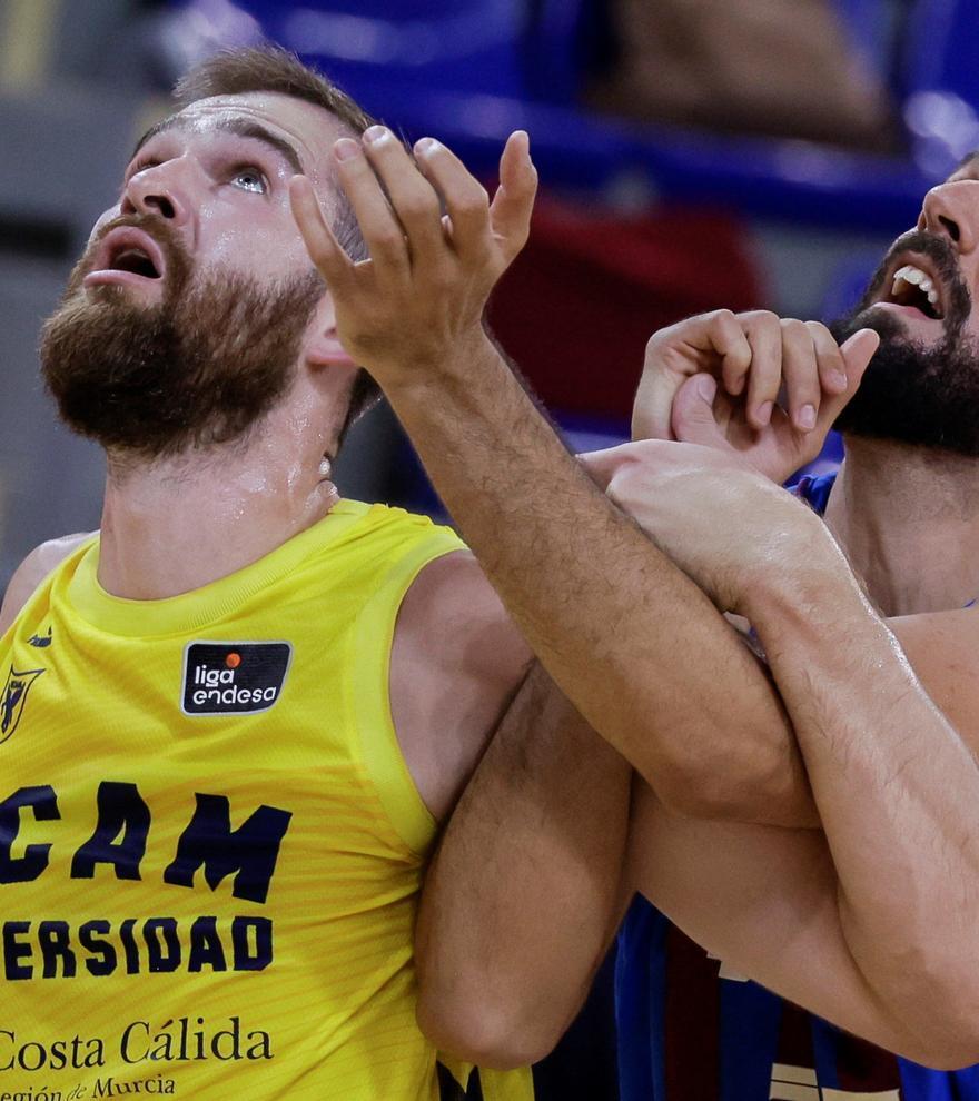 El Barça sufre, pero gana al UCAM Murcia en su estreno en la ACB