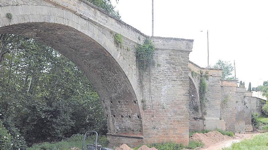 L'Ajuntament de Manresa aprova cinc anys després enllestir la rehabilitació del Pont Nou amb una inversió de 275.000 euros