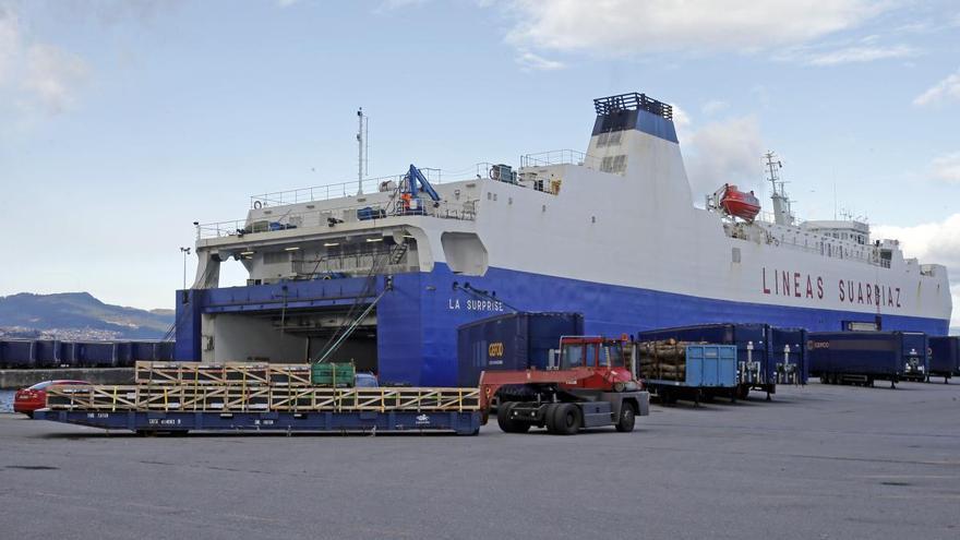 Un tripulante de la ruta a Tánger desembarca en Vigo con Covid-19