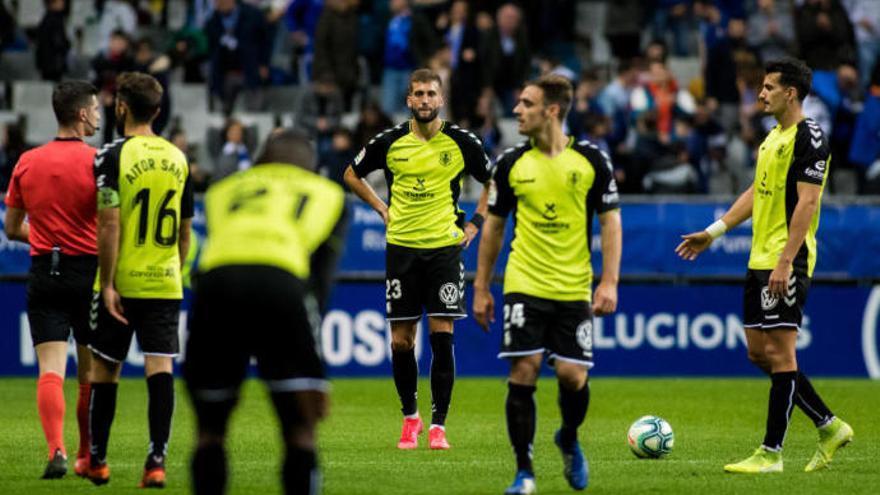 El Tenerife perdió en su única visita oficial al CF Fuenlabrada