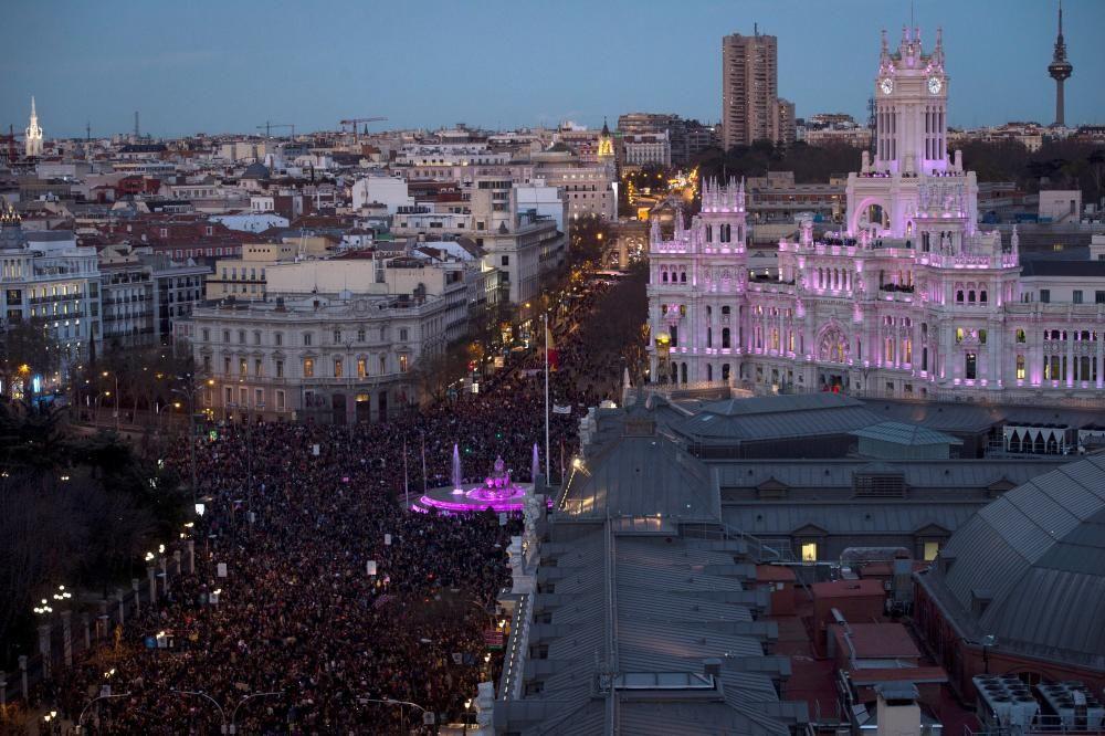 Manifestación en Madrid con motivo del Día ...