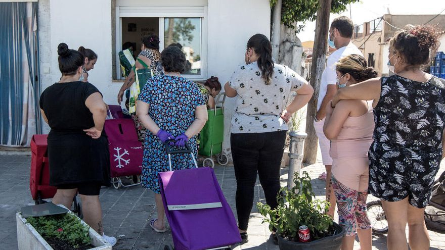 La pobreza severa afecta a más de 241.000 personas en la Comunidad