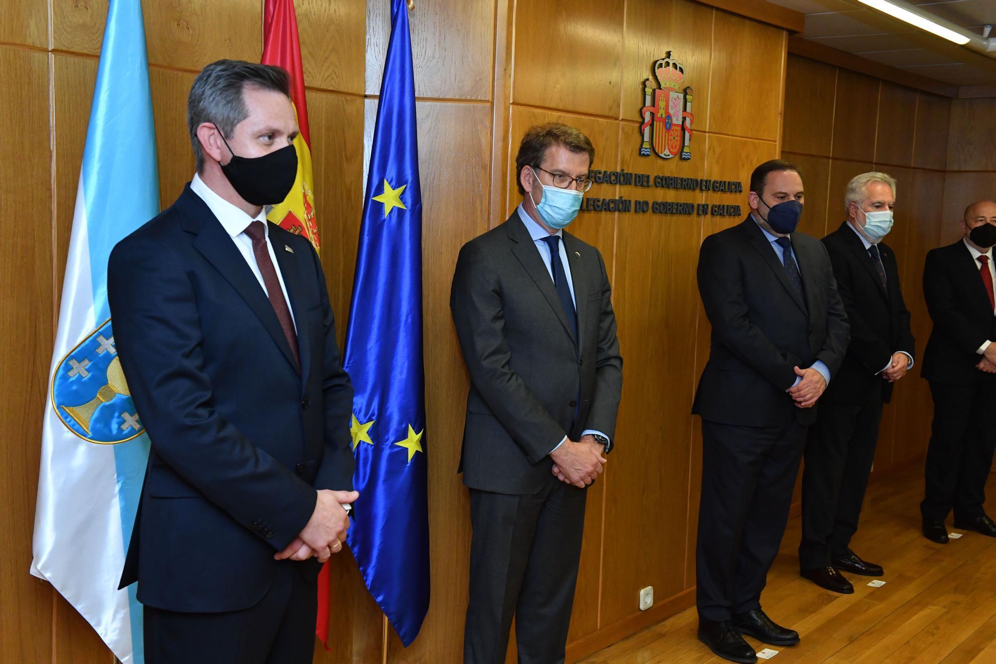 Ábalos, en A Coruña para el relevo en la Delegación del Gobierno