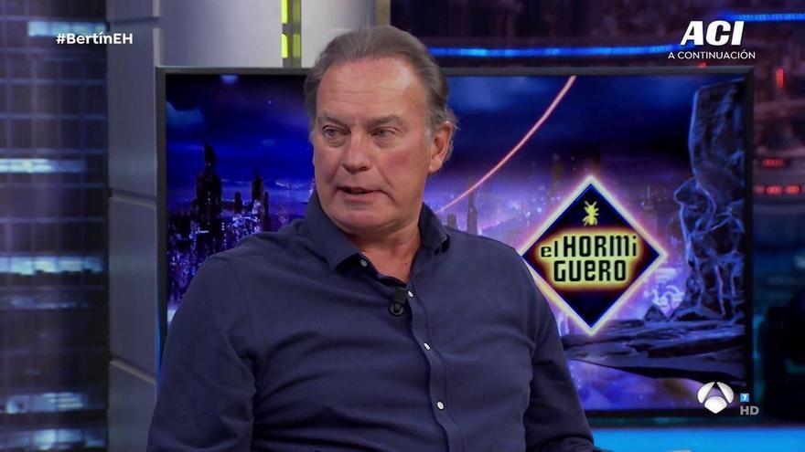 """Bertín Osborne recuerda su participación en una telenovela: """"Estaba tieso y pagaban muy bien"""""""
