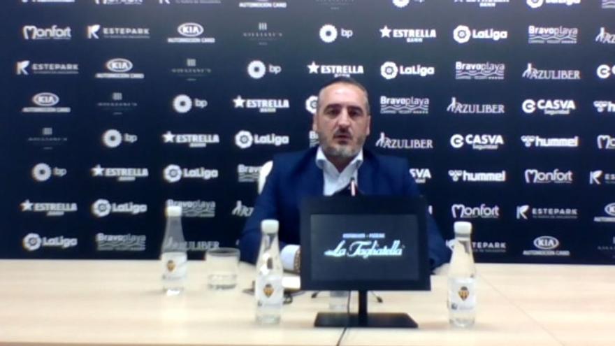"""Montesinos: """"Vamos a devolver el importe de los abonos a los todos socios que no han podido disfrutar del CD Castellón"""""""