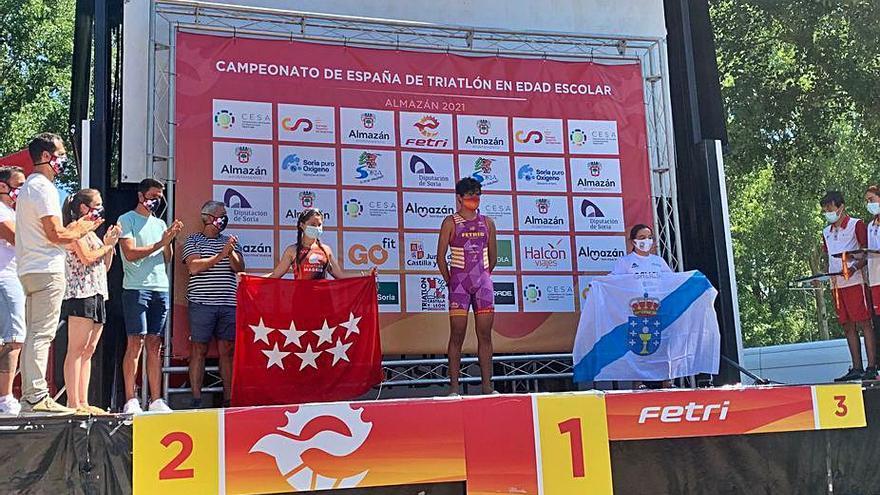 Nagore Otero, bronce con Galicia