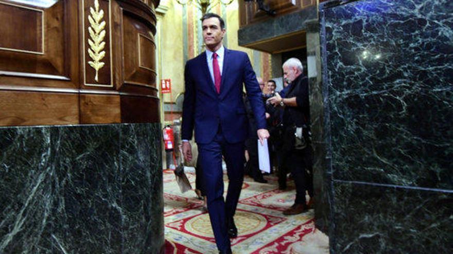 Pedro Sánchez obté la majoria simple del Congrés i revalida la presidència del Govern