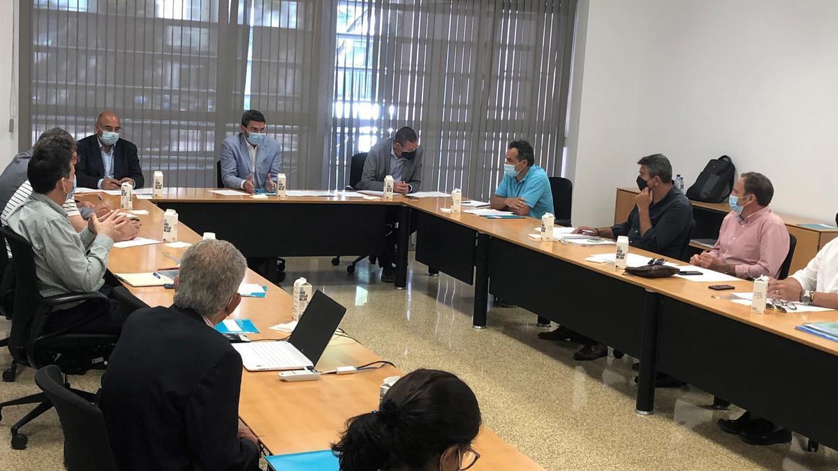 El consejero Antonio Luengo preside la constitución de la Mesa del cítrico, destinada a analizar la evolución y retos que se plantean al sector