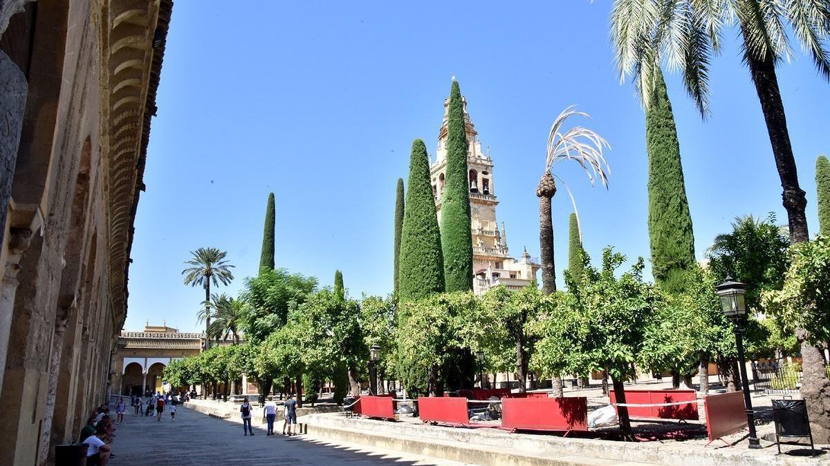 Una excavación arqueológica en el Patio de los Naranjos concluirá la iniciada por Félix Hernández en 1934