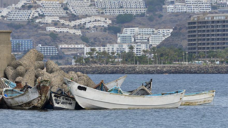 Salvamento rescata a 17 migrantes a 18 kilómetros de Maspalomas