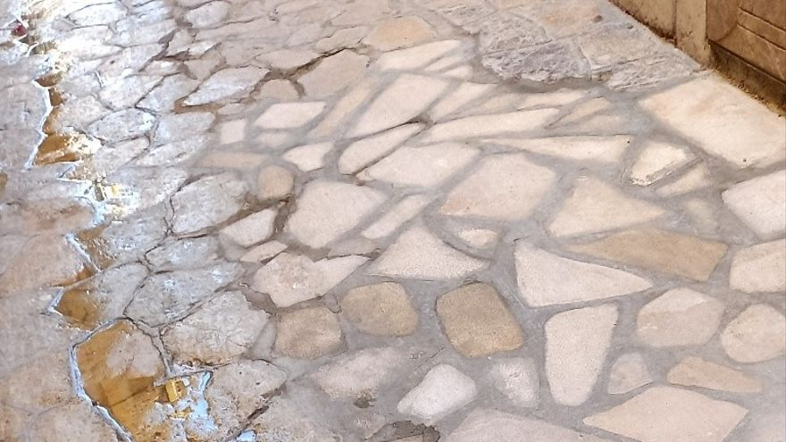 ARCA reclama a Cort la correcta restitución del empedrado de la calle Sant Jaume