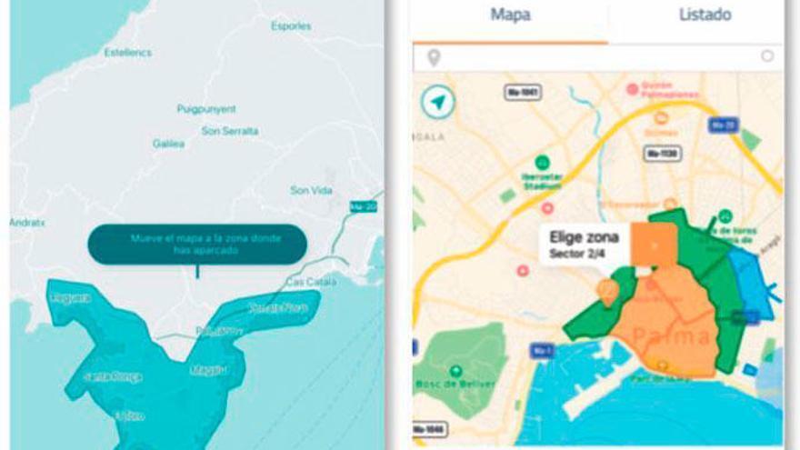 So können Sie auf Mallorca Parktickets per App lösen