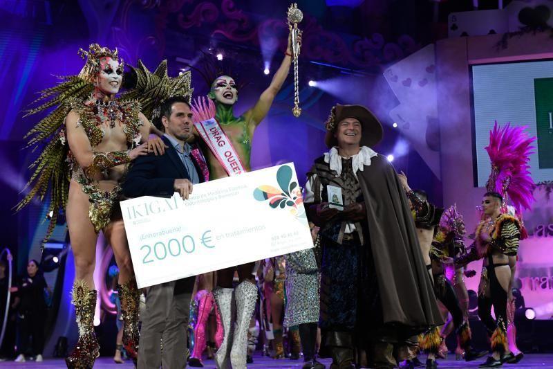 28-02-2020 LAS PALMAS DE GRAN CANARIA. Gala Drag Queen.  | 29/02/2020 | Fotógrafo: Juan Carlos Castro