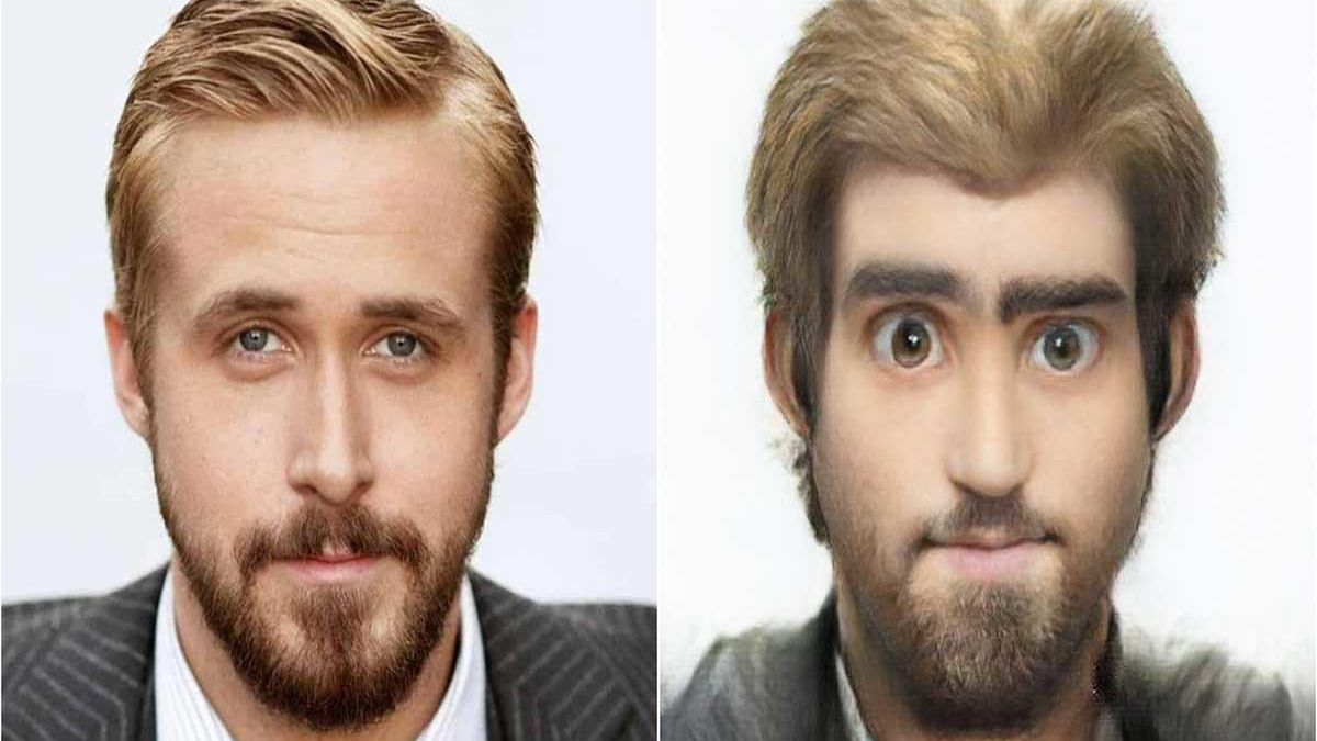 Sample of what Toonify is capable of with the image of Ryan Gosling.