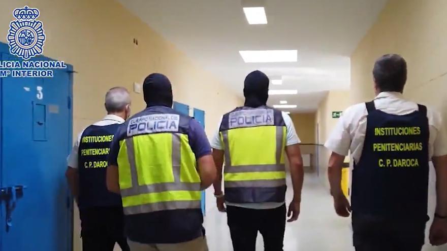 La Policía arresta a un preso por formar una célula terrorista en la cárcel de Daroca