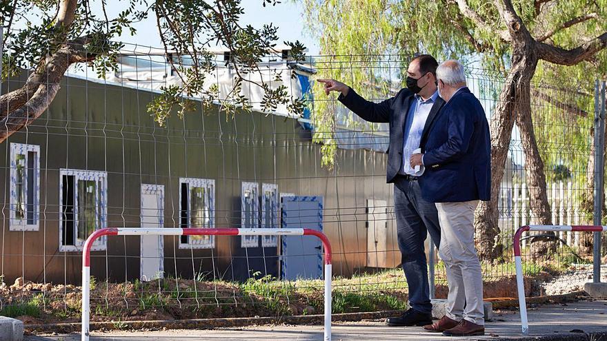 El PSOE exige la apertura del centro provisional para sintecho «antes del invierno»