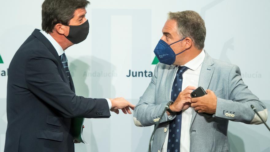 El PP y Cs quieren reeditar el pacto andaluz y «dejar a Vox en el banquillo»