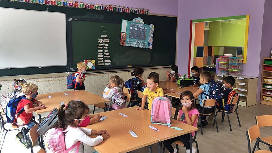 El colegio de Caldelas estrena Infantil cubriendo todas las plazas disponibles