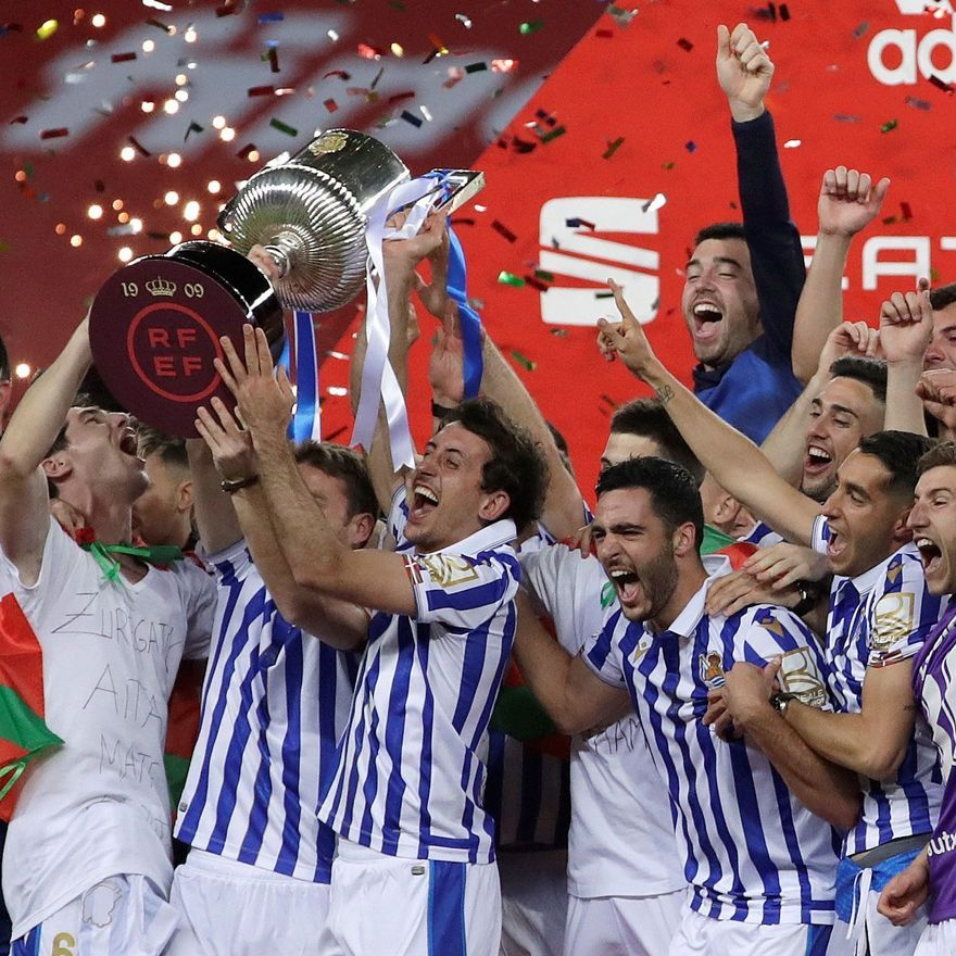 Final de la Copa del Rey: Athletic - Real Sociedad.