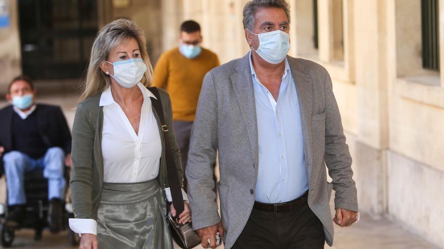 La mujer de Ortiz se acoge a su derecho a no declarar contra su marido en el juicio del PGOU de Alicante